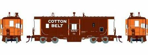 Athearn Genesis HO G78539 ICC Caboose, Cotton Belt (SSW) #79 (Equipped with Lights)
