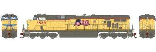 Athearn Genesis HO G83087 ES44AC, Union Pacific (Fader) #5529