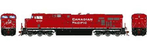 Athearn Genesis HO G83172 ES44AC, Canadian Pacific (As Delivered) #8700 (DCC and Sound Equipped)