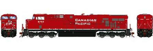 Athearn Genesis HO G83175 ES44AC, Canadian Pacific (Retrucked) #8714 (DCC and Sound Equipped)