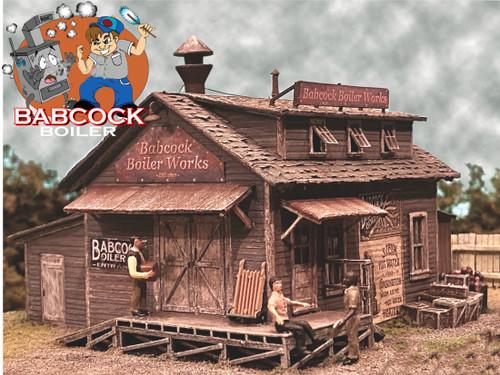 Bar Mills Scale Model Works HO 0232 Babcock Boiler Kit