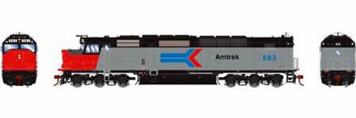 Athearn Genesis HO G63998 SDP40F, Amtrak #583 (DCC and Sound Equipped)