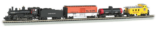 Bachmann N 24133 4-6-0 Whistle Stop Steam Train Set, Union Pacific #1591 (DCC and Sound Equipped)