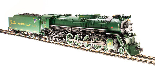 Broadway Limited Imports HO 4909 C&O J3a 4-8-4, The Greenbrier Presidential Express #614 (Equipped with Paragon3 Sound/DC/DCC)