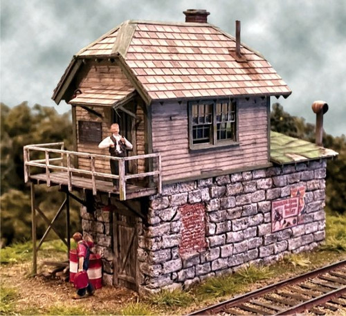 Bar Mills Scale Model Works HO 0272 Tower at Cranberry Yard Kit