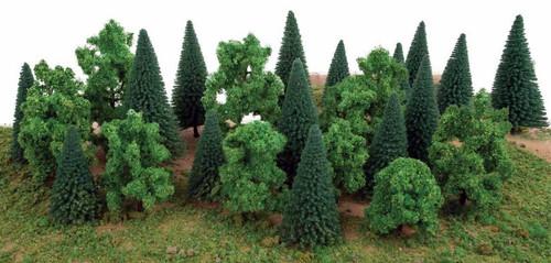 Walthers Scenemaster HO 949-1179 Mixed Trees (25)