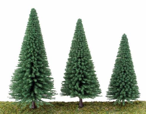 "Walthers Scenemaster HO 949-1181 Pine Trees 5-1/2"" (10)"