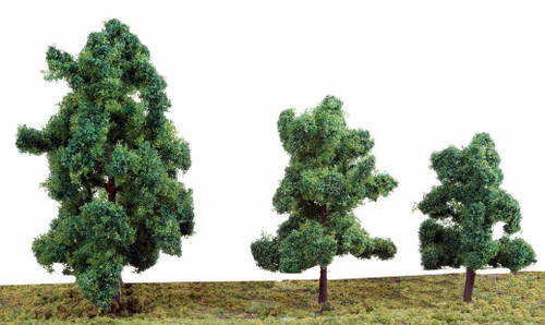"""Walthers Scenemaster HO 949-1184 Summer Trees 3-3/8"""" (10)"""