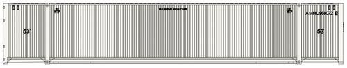 Atlas N 50005215 53' Containers, American Highway Set #1