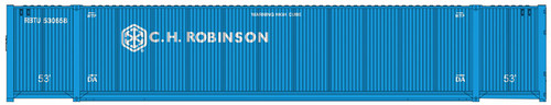 Atlas N 50005223 53' Containers, C.H. Robinson Set #2