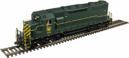 Atlas Master Line HO 10002773 Gold Series EMD SD35 with Low Nose, Central Railroad of New Jersey #2502 (LokSound and DCC Equipped)