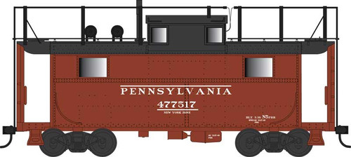 Bowser HO 42553 N5 Caboose with Antenna, Pennsylvania Railroad (Early) #477445