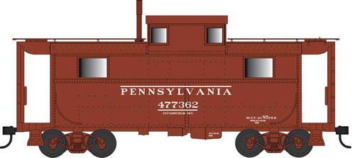 Bowser HO 42557 N5 Caboose, Pennsylvania Railroad (Early/Brown Roof) #477362