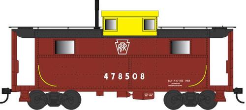 Bowser HO 42560 N5 Caboose, Pennsylvania Railroad (Yellow Cupola with Keystone) #478508