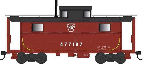 Bowser HO 42563 N5 Caboose, Pennsylvania Railroad (Keystone) #477222