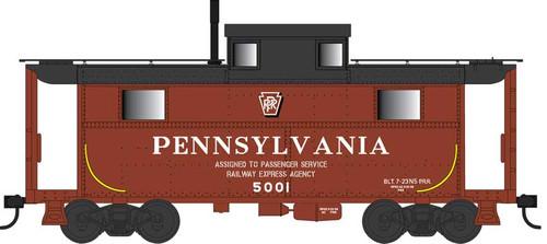 Bowser HO 42567 N5 Caboose, Pennsylvania Railroad (Shadow Keystone/REA) #5012