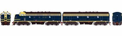 Athearn Genesis HO G12419 F7 A/B, Atchison Topeka and Santa Fe (Cat Whiskers) #212C/212B (DCC and Sound Equipped)