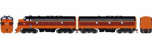 Athearn Genesis HO G12422 F7 A/B, Milwaukee Road #69A/69B (DCC and Sound Equipped)