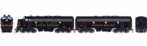 Athearn Genesis HO G12432 F7 A/B, Western Maryland #59/402 (DCC and Sound Equipped)