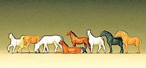 Preiser Z 88578 Horses (8)