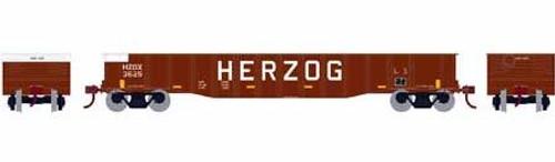 Roundhouse HO 82095 50' Gondola, Herzog #3625