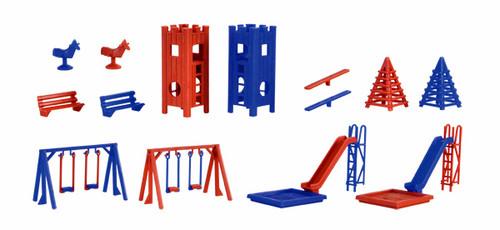 Vollmer HO 43665 Playground Equipment Set Kit