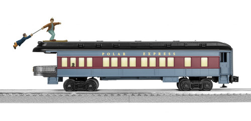 Lionel O 2027800 Skiing Hobo Observation Car, The Polar Express