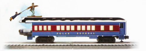 Lionel O 6-85400 Skiing Hobo Observation Car, The Polar Express
