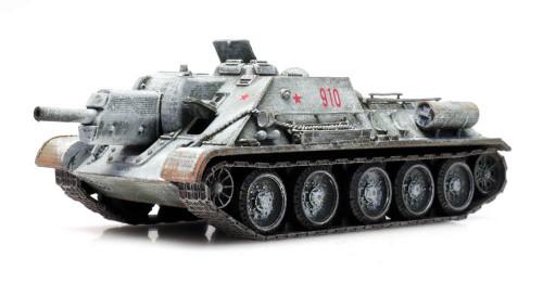 Artitec HO 6870230 SU-122 Tank, Winter
