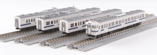 Kato N 101536 Series 415 Electric Tram 4 Car Add-On Set, Joban Line