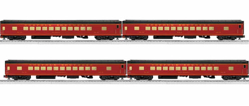 Lionel O 1927200 Excursion Coach 4 Car Set, Norfolk Southern