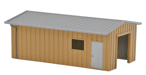 Deluxe Innovations N D352 Armco Steel Building Workshop, Blue