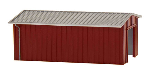 Deluxe Innovations N D386 Armco Steel Building Shed, Brown