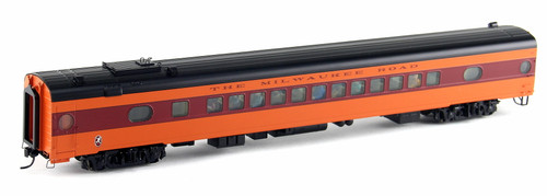 Walthers Proto HO 920-9103 85' 52-Seat Coach, Milwaukee Road (1952-56 Twin Cities Hiawatha) #542 (535 Series Orange)