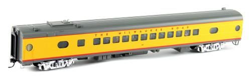 Walthers Proto HO 920-9143 85' 52-Seat Coach, Milwaukee Road (1956-71 Twin Cities Hiawatha) #540 (535 Series Yellow)