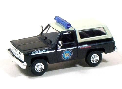 Trident Miniatures HO 90133 Chevrolet Blazer Police Vehicle, Florida Highway Patrol