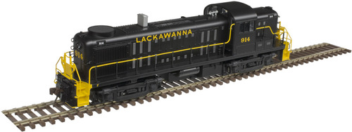 Atlas HO 10003021 Silver Series RS-3 Locomotive, Lackawanna (High Hood Lettering) #917