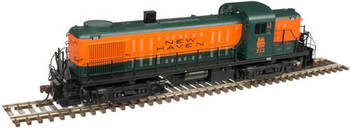 Atlas HO 10003027 Silver Series RS-3 Locomotive, New Haven #552