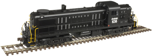 Atlas HO 10003039 Gold Series RS-3 Locomotive, Amtrak #105 (LokSound Decoder Equipped)