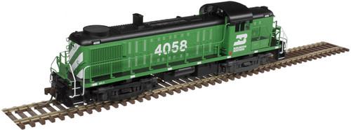 Atlas HO 10003042 Gold Series RS-3 Locomotive, Burlington Northern #4058 (LokSound Decoder Equipped)