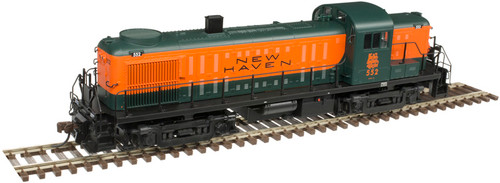 Atlas HO 10003047 Gold Series RS-3 Locomotive, New Haven #552 (LokSound Decoder Equipped)