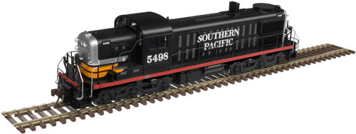 Atlas HO 10003056 Gold Series RSD-4/5 Locomotive, Southern Pacific (Black Widow) #5495 (LokSound Decoder Equipped)