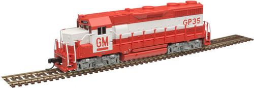 Atlas N 40004276 Silver Series GP35 Locomotive, EMD Demonstrator #5654