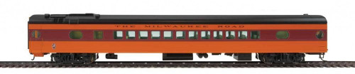 Walthers Proto HO 920-9102 85' 52-Seat Coach, Milwaukee Road #506