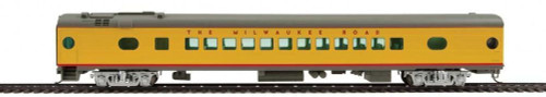 Walthers Proto HO 920-9151 85' 52-Seat Coach, Milwaukee Road #543