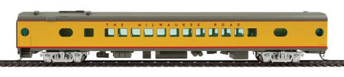 Walthers Proto HO 920-9160 85' 52-Seat Coach, Milwaukee Road #508