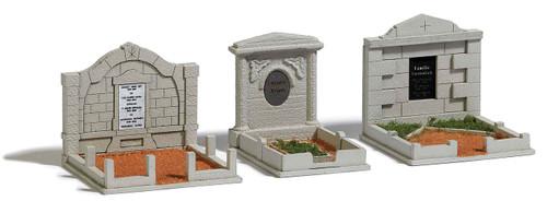 Busch HO 1092 Family Graves (3)
