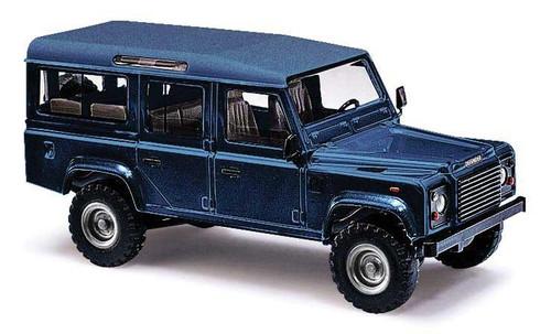 Busch HO 50352 1983 Land Rover Defender SUV, Metallic Blue
