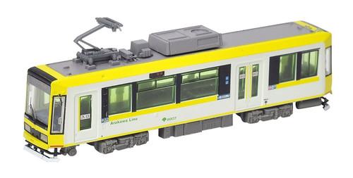 Tomix (TomyTec) N 287865 Type 8900 Unpowered Streetcar, Tokyo Metropolitan Bureau of Transportation #8907