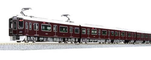 Kato N 101365 Hankyu 9300 series 4-Car Basic Set, Kyoto line